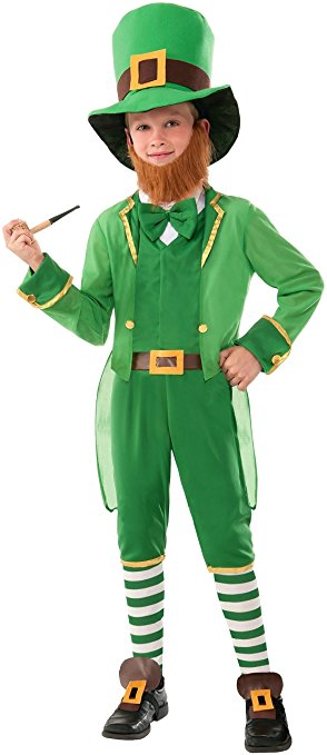 St. Patricks Day Boys Costume - awesome little leprechaun outfit!