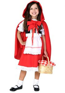 Book Character Costumes For Girls: Little Red Riding Hood Costume!