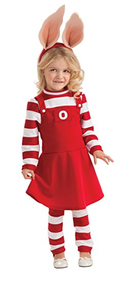 Book Character Dress Up Ideas For Girls - Olivia The Pig!
