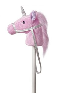 Gifts for 3 year old girls! This unicorn riding stick will be a ton of fun for an active and imaginative girl!
