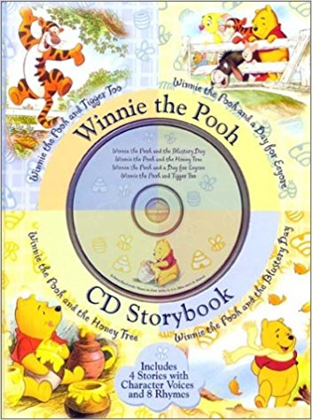 Gifts for 3 year old girls - Audio CD and Storybooks like this Winnie The Pooh set of 4 are much loved, especially for long trips in the car!