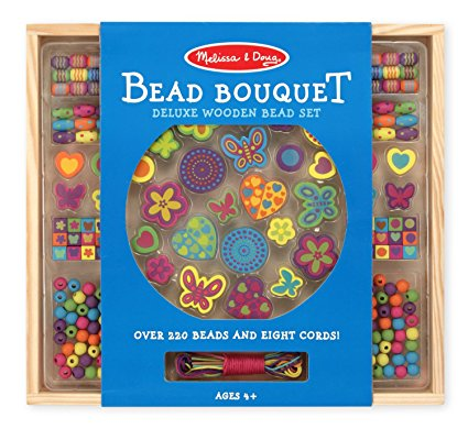 Melissa And Doug Bead Bouquet - Beads are great toys for 3 year old girls!