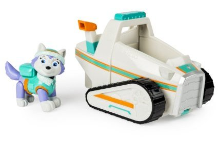 PAW Patrol - Everest Figurine and Vehicle - Best Toys For 3 Year Old Girls on Kidslovedressup.com