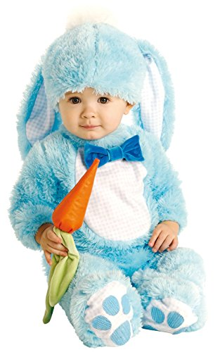 blue Easter bunny costume for baby boy