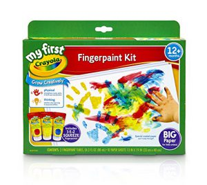 Crayola Fingerpaint Kit - Best Toys for 3 Year Old Girls