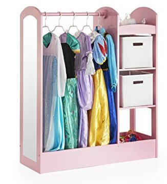 Guidecraft See And Store Dress Up Center Review - Top 12 Kids Dress Up Storage Ideas