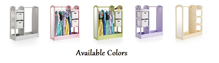 Guidecraft See And Store Dress Up Center - Available Colors