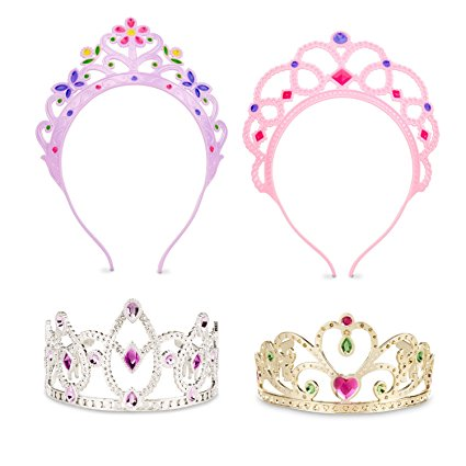 Best Toys For 3 Year Old Girls on Kidslovedressup.com - Melissa and Doug Dress Up Tiara Set