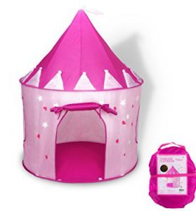 Best Toys For 3 Year Old Girls on Kidslovedressup.com - Princess Play Tent