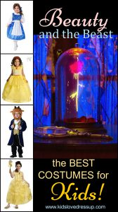 Beauty and the Beast Costumes for Kids - Helping you find the best ones for your kids! www.kidslovedressup.com
