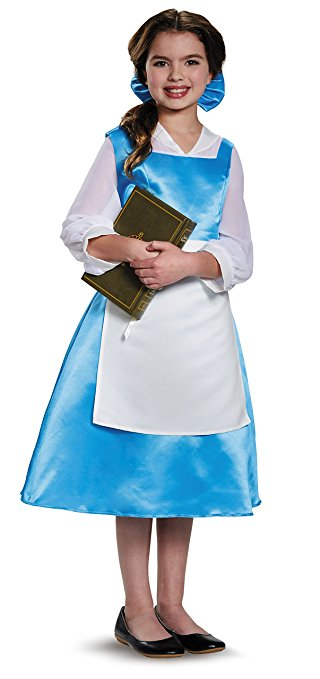 Beauty and the Beast costumes for kids - Belle's Blue Dress - www.kidslovedressup.com