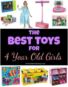 What are the best toys for 4 year old girls? Find out here at www.kidslovedressup.com