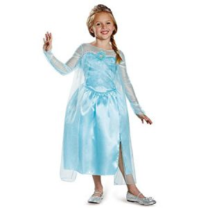 Princess Elsa Gown - dress up clothes are great toys for 4 year old girls!