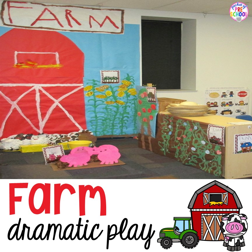 13 Preschool Dramatic Play Ideas that little ones will love!