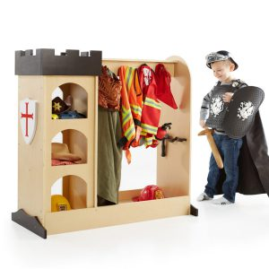 This unit is a great option for dress up storage! Guidecraft Castle Dramatic Play Unit - Product Review