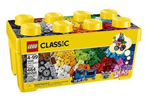 Lego - one of the classic toys for kids! 4 year old girls love it too!