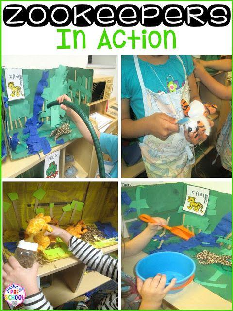 Preschool Dramatic Play Ideas that little ones will love!