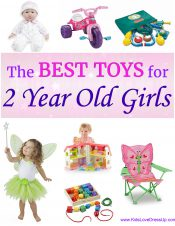What are the best toys for 2 year old girls? The best gifts for 2 year old girls? Here are 12 perfect choices for the little sweetie in your life! gifts for kids, toys for kids, toys for 2 year old boys, gifts 2 year old, 2 year old, 3 year old girls, 1 year old girl, christmas gifts 2 year old