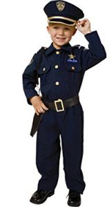 Police Costume Set: It's one of the best toys for 3 year old boys! Suggested by www.kidslovedressup.com.
